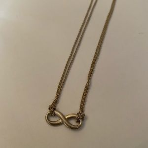 Tiffany's sterling silver infinity necklace
